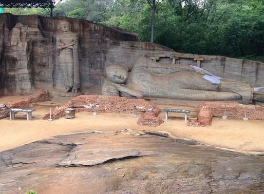 Polonnaruwa et Gal Vihariya, Sri Lanka