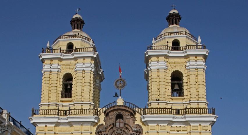 Lima Basilique et le Monastère Plaza Mayor