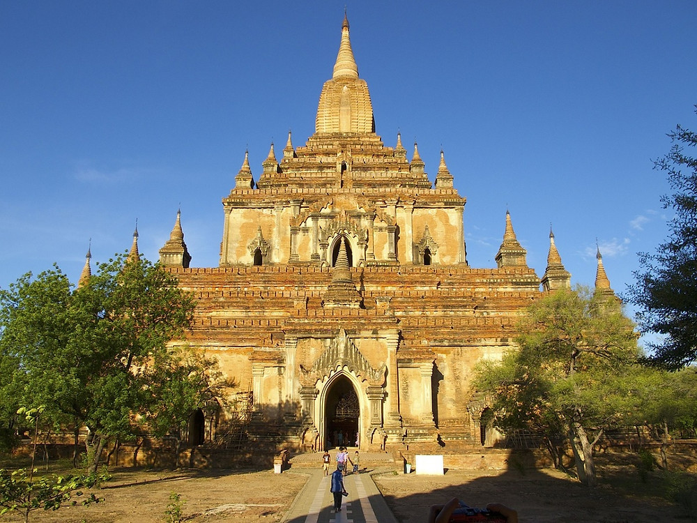 Bagan  Temple Sulamani