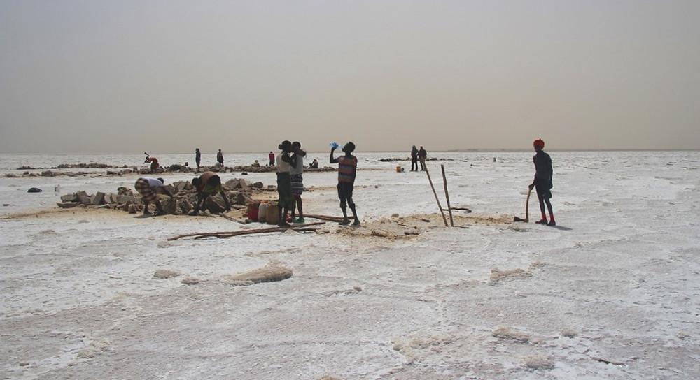 lac Karoum Ethiopie sel