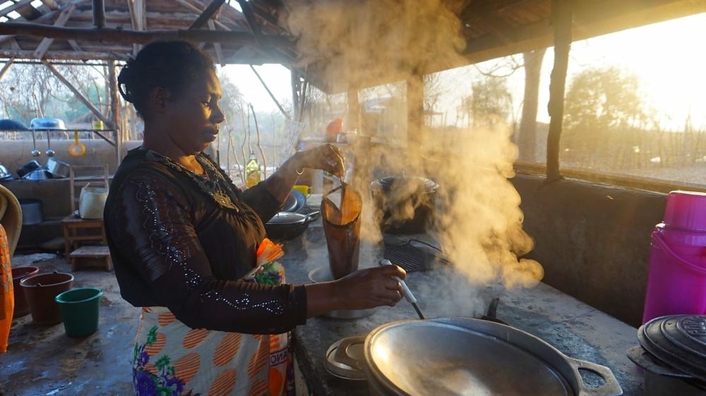 cuisine Tsaravahiny de Mangily