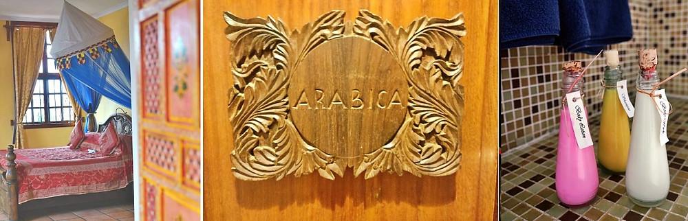 arabica room stone town