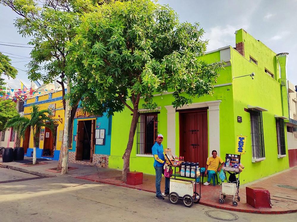 rue Santa Marta Colombie
