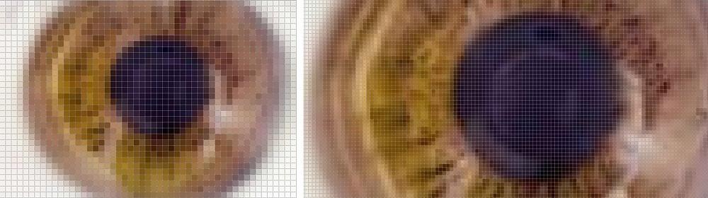 Pixel photo