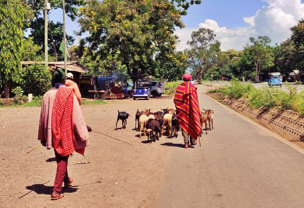 rue principale de Mto Wa Mbu