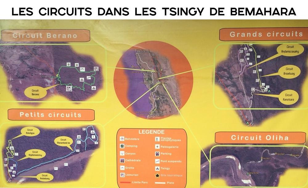 circuits des tsingy de bemahara