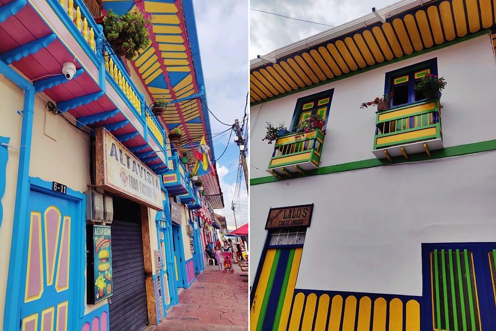 Façades Filandia Colombie