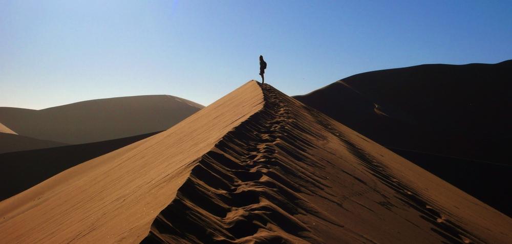 sommet sossusvlei dune