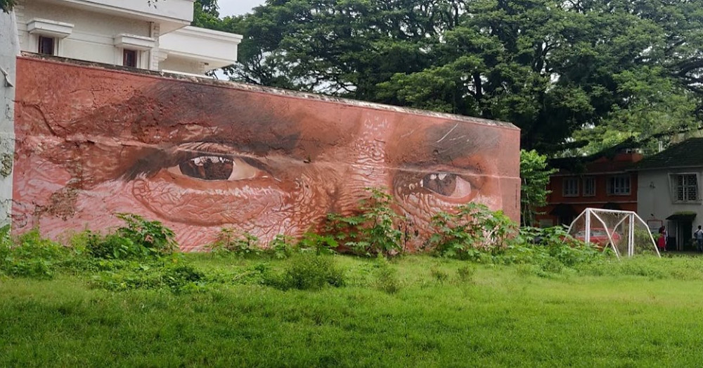 Street Art à  Fort Cochin