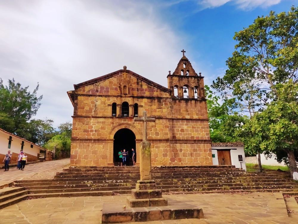 Barichara Chapelle de Santa Barbara