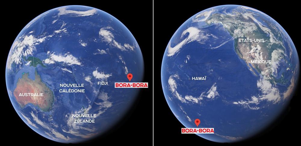 Bora Bora globe