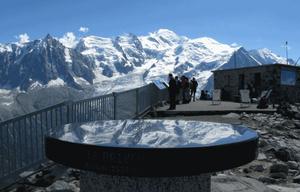 Sommet du Brévent de Chamonix-Mont-Blanc