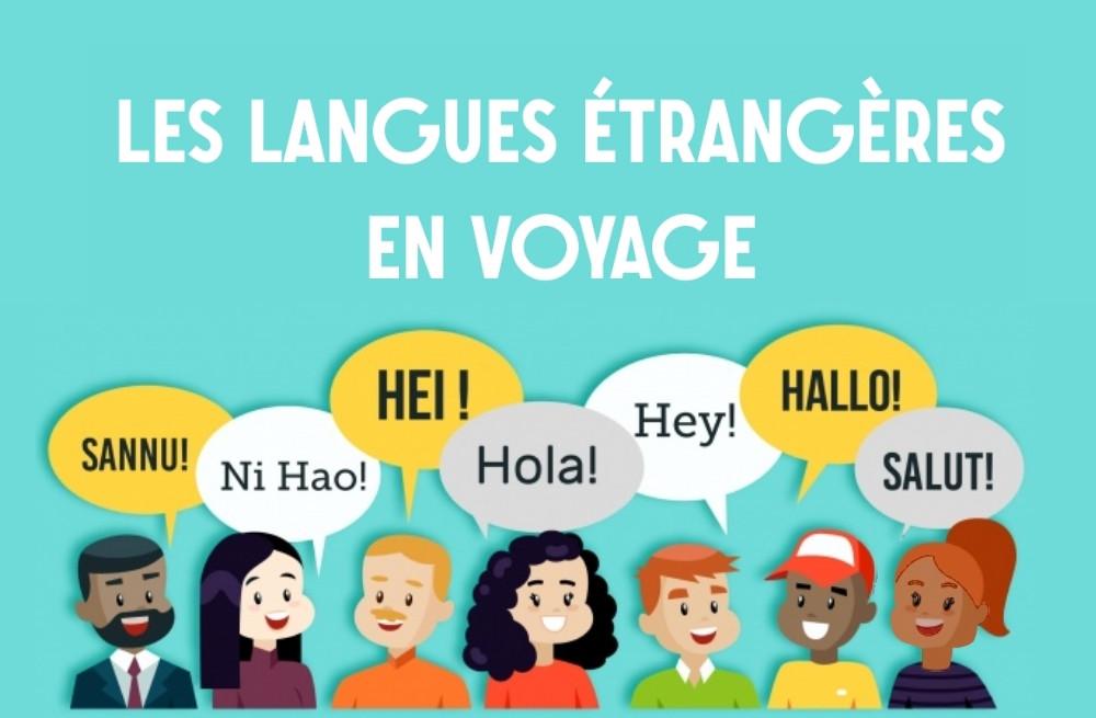 Langues étrangères en voyage