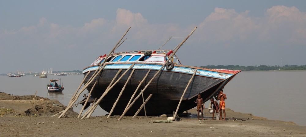 bateau Sundarbans au Bangladesh