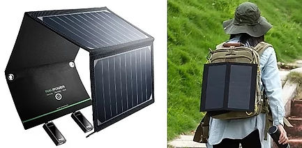 Cadeau randonnée paneau solaire