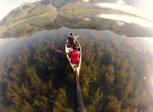 Le lac du Matese en Italie