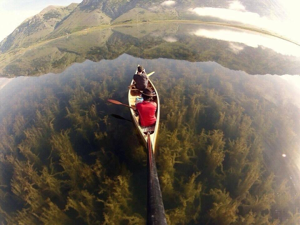 kayak lac du Matese