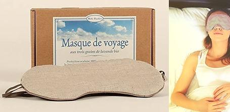 Masque voyage bio