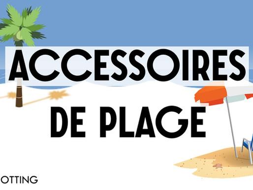Les Accessoires de plage