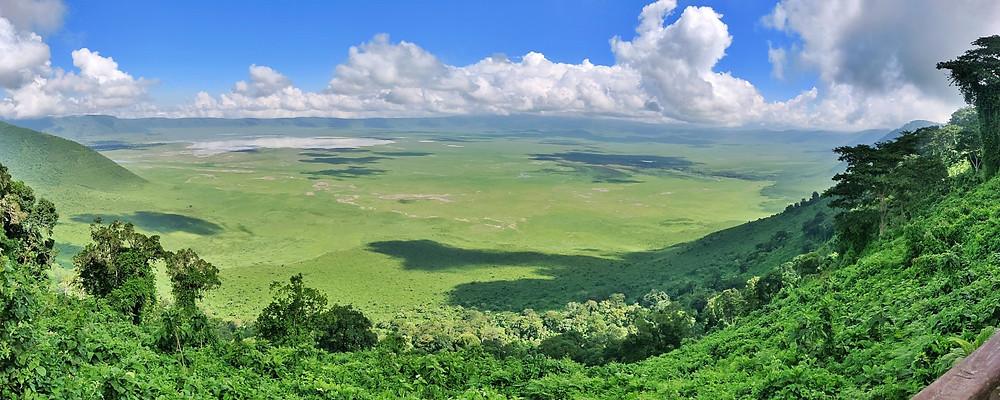 viewpoint Ngorongoro