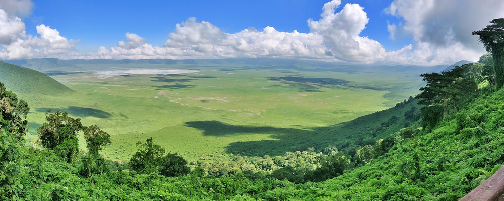 viewpoint Ngorongoro