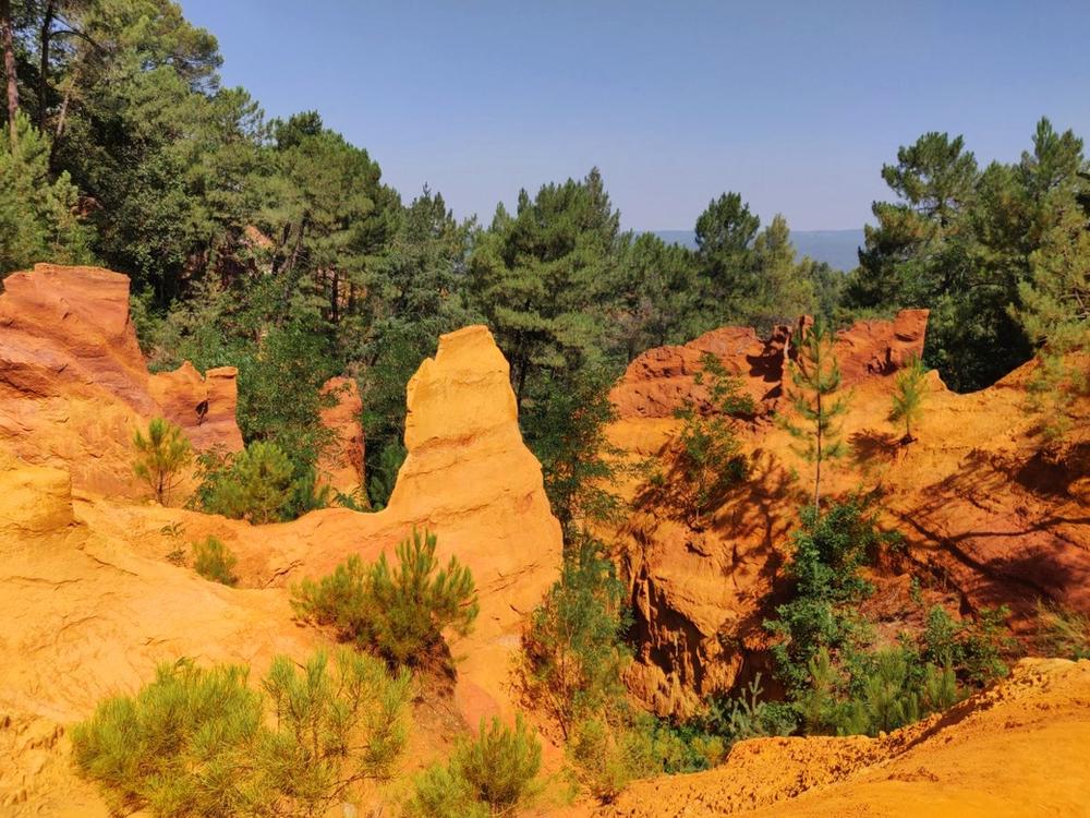 Ocres de Roussillon Luberon