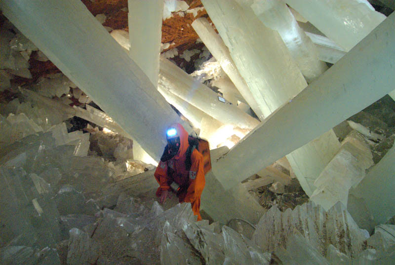 caverne de cristal de la Mine Naïca