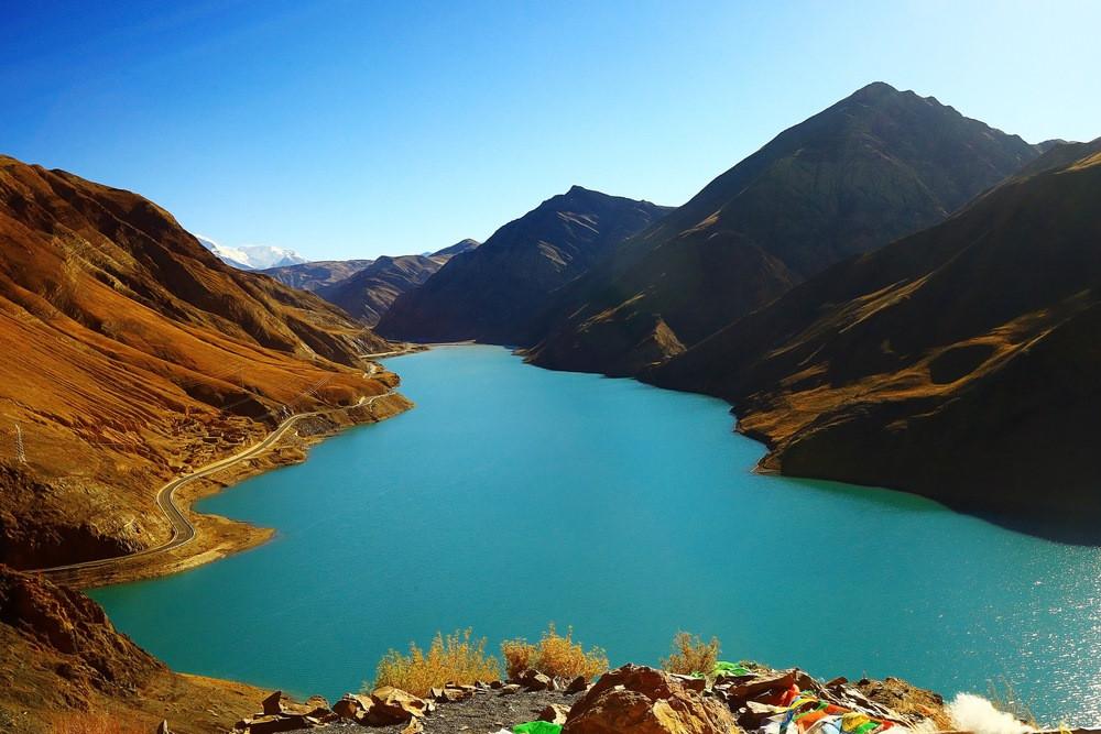 lac de Jade Vert tibet