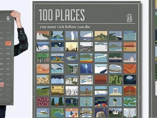 100 Lieux à Voir Avant de Mourir : Le Poster