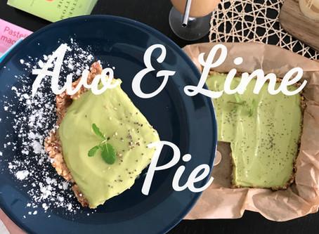 Avocado Lime Pie - Dairy Free