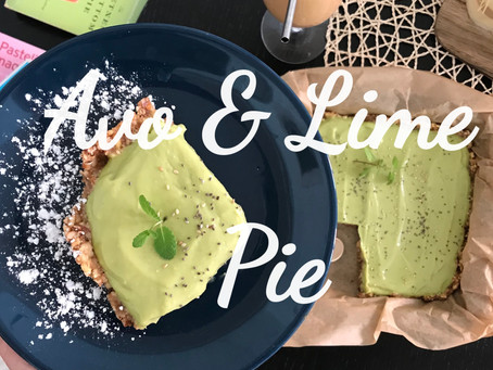 Avocado Lime Pie - Dairy Free