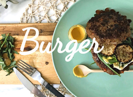 Bun-less Burger - HomeMade GudiStyle