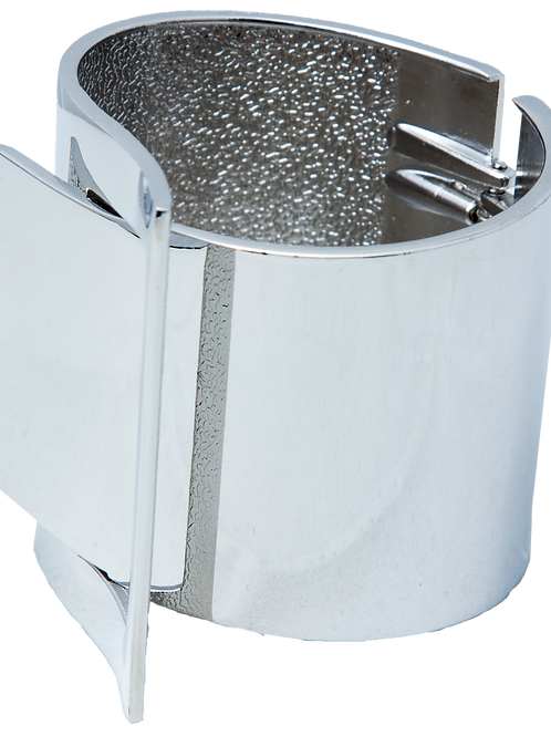 Silver Interlock Cuff