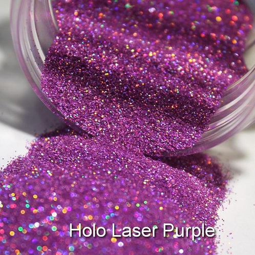 Laser Purple Glitter Lipz