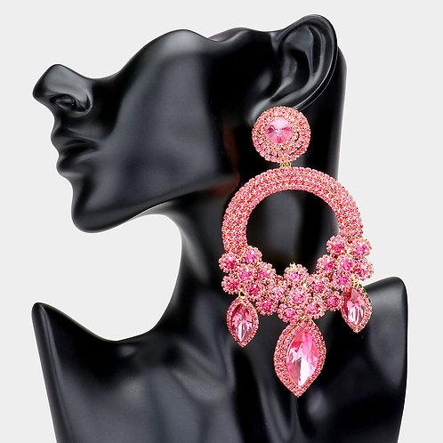 Pink Ashley Earrings