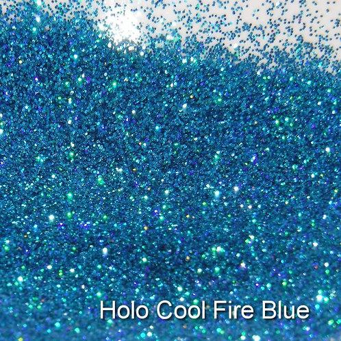 Holo Cool Fire Blue Glitter Lipz