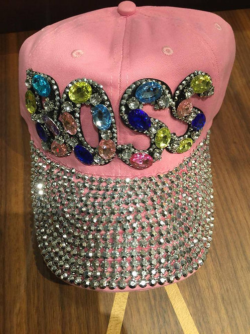 Light Pink BOSS Hat