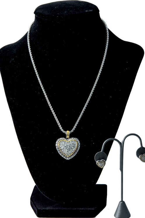 Antique Heart Set