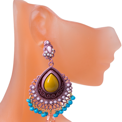 Cadence's Multicolor Natural Stone Earrings