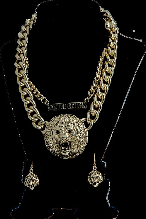 Gold Lion Set