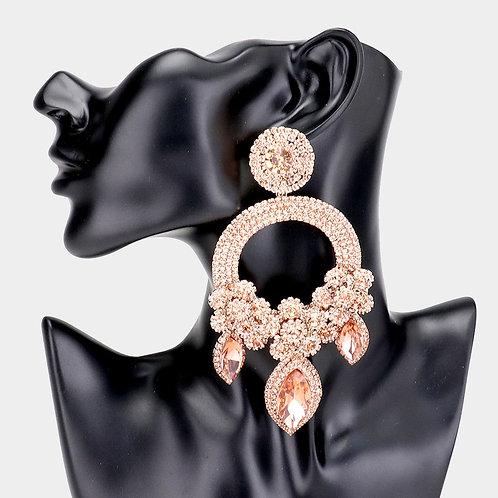 Rose Gold Ashley Earrings
