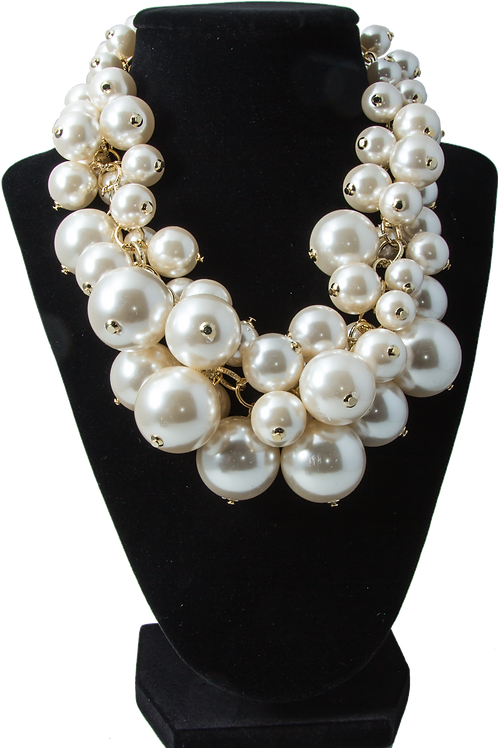 Nested Mult-Bead Necklace