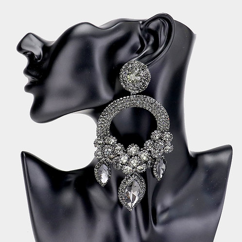 Black Ashley Earrings