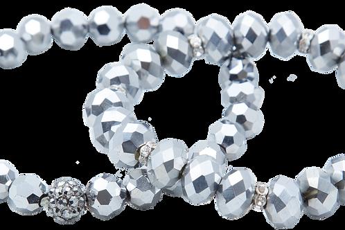 Grey Pearl bracelets