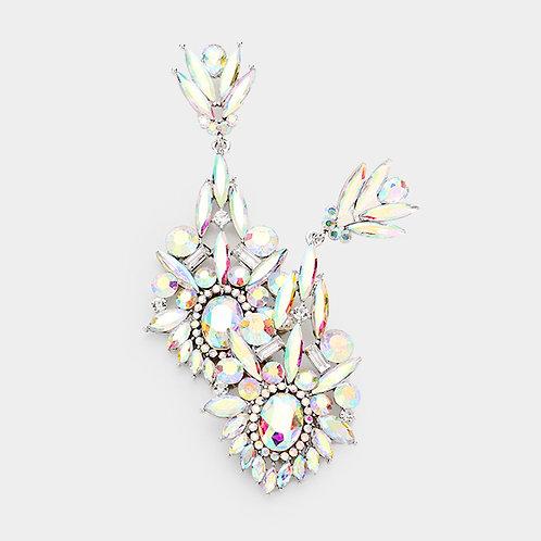 Jessica Rainbow Evening Earrings