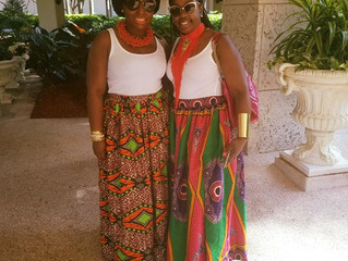 How to Rock a Trendy African Print this Spring