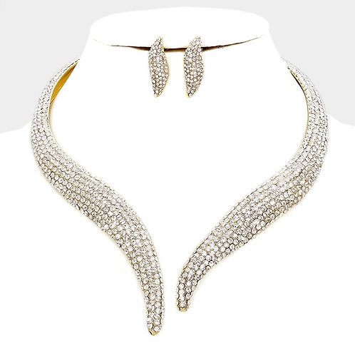 Vine Diamond Necklace