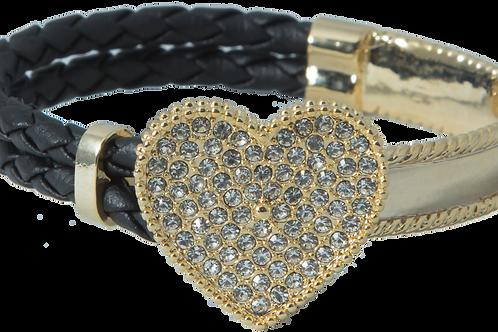 Gold Heart Truk Bracelet