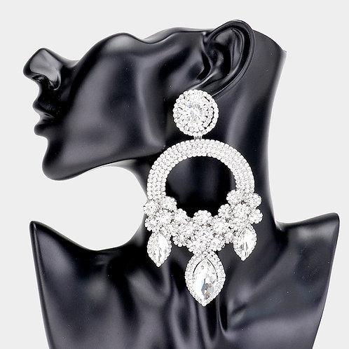 Silver Ashley Earrings