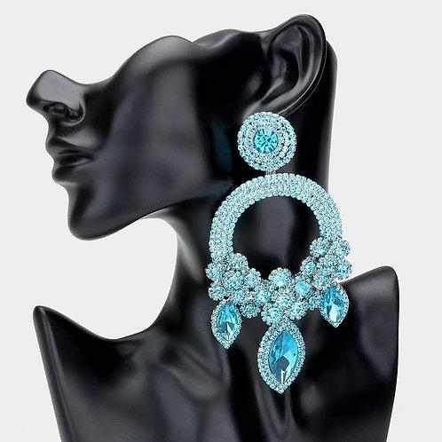 Aqua Ashley Earrings